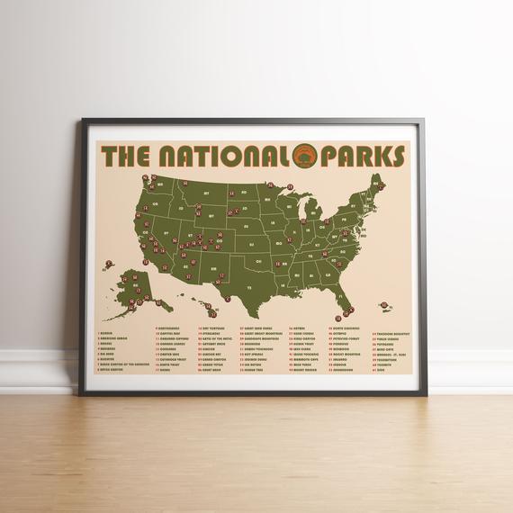 Park Art|My WordPress Blog_View Us National Park Poster  PNG