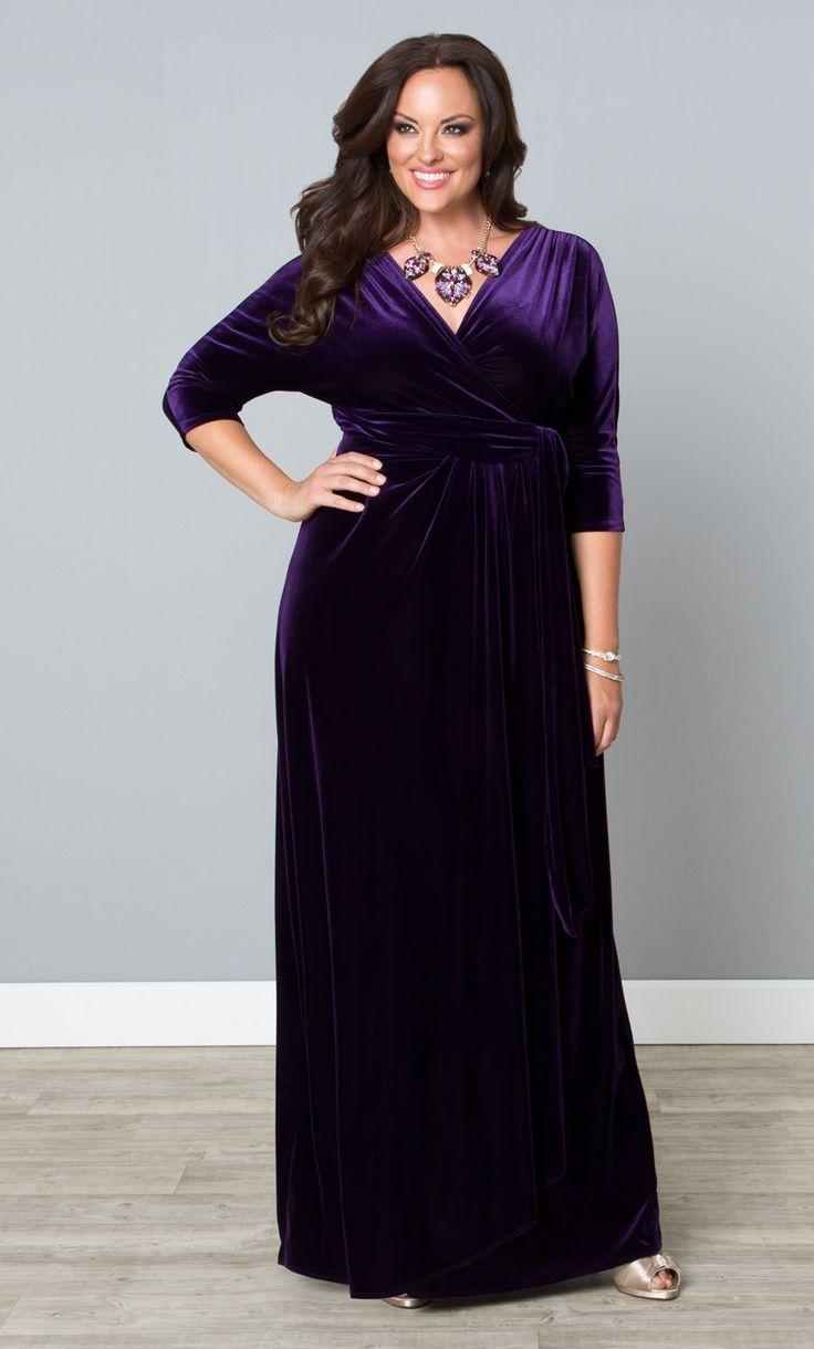 Park Art|My WordPress Blog_Purple Velvet Dress Plus Size