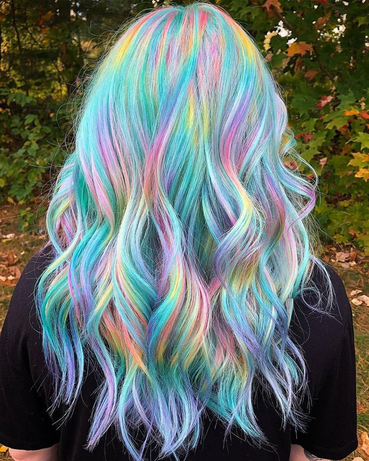 Park Art My WordPress Blog_Holographic Hair Color For Blondes
