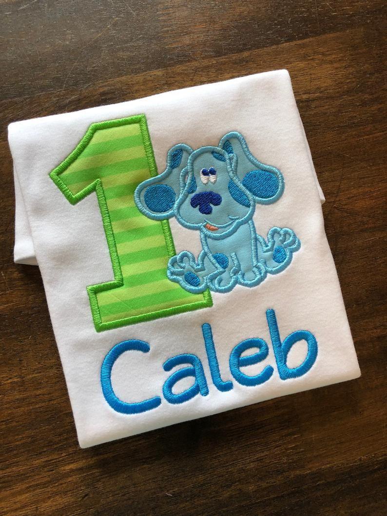 Park Art|My WordPress Blog_Blues Clues Birthday Boy Shirt