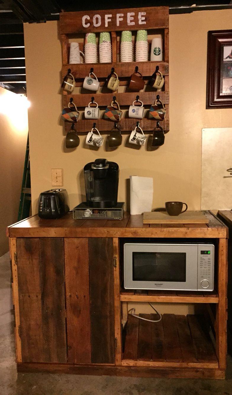 Park Art My WordPress Blog_Coffee Bar With Mini Fridge And Microwave