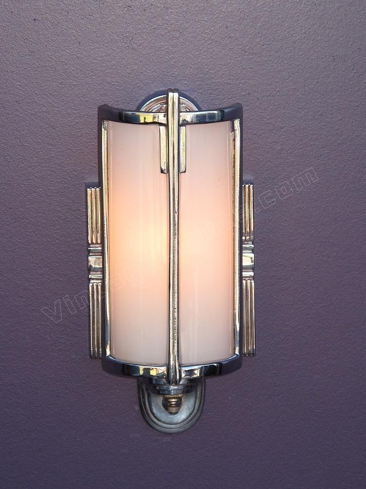 Park Art|My WordPress Blog_Vintage Art Deco Bathroom Lighting