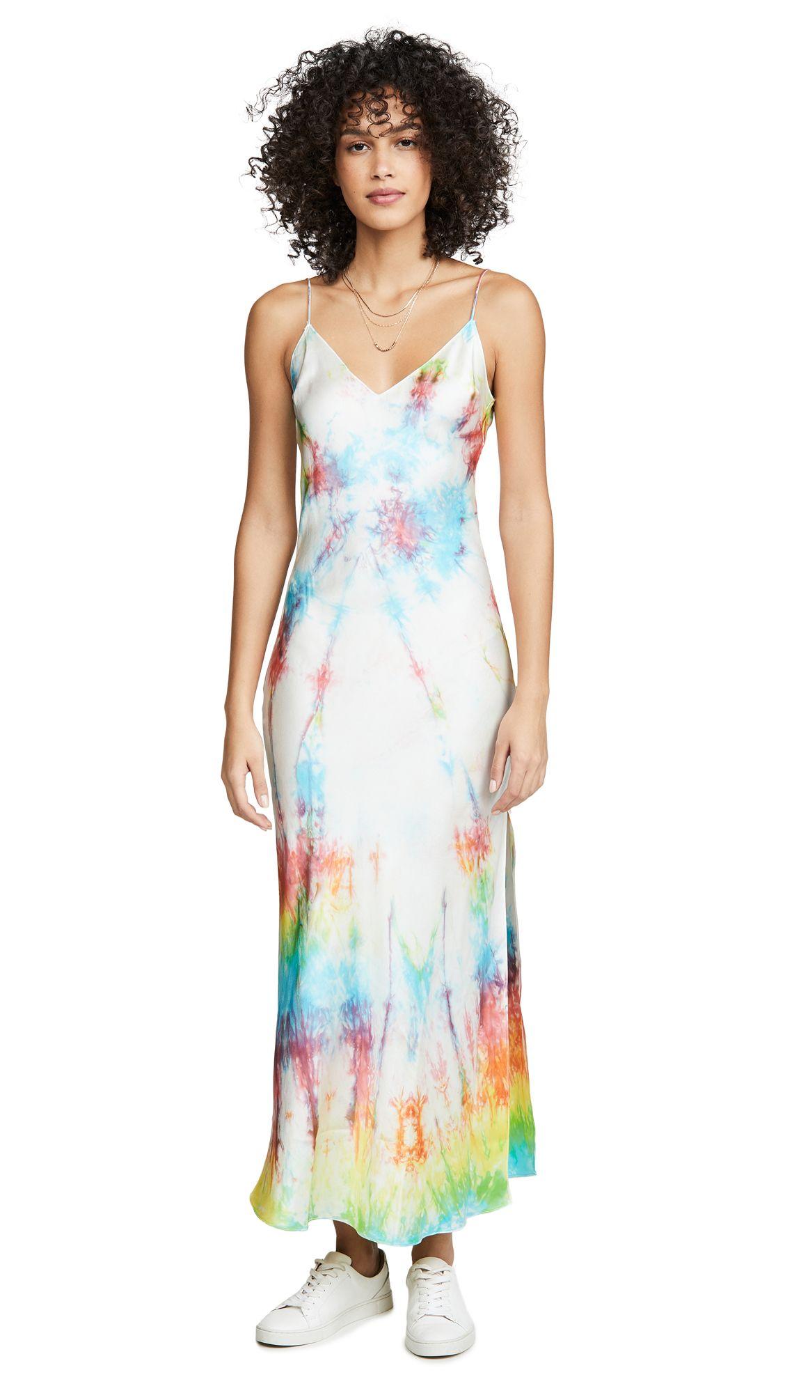 Park Art|My WordPress Blog_Tie Dye Slip Dress Silk