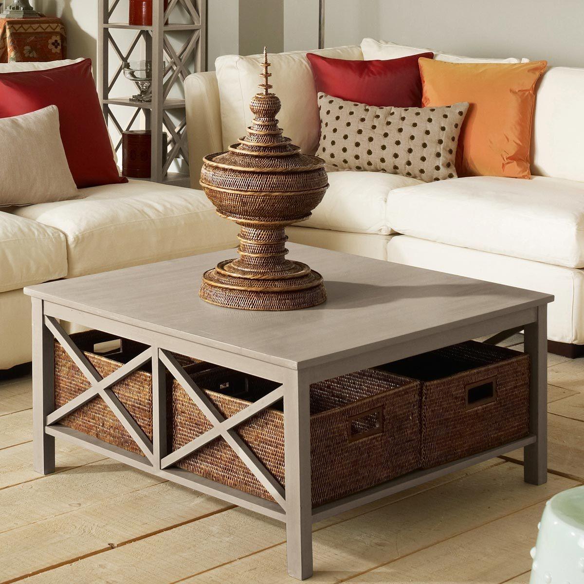 Park Art|My WordPress Blog_Wood Block Coffee Table With Storage