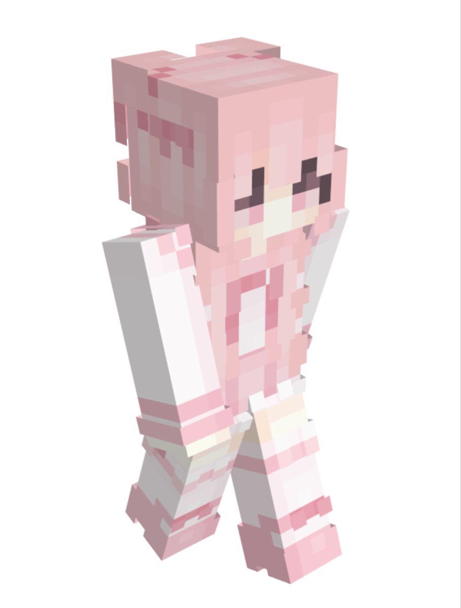 Park Art|My WordPress Blog_Pink Maid Dress Minecraft Skin