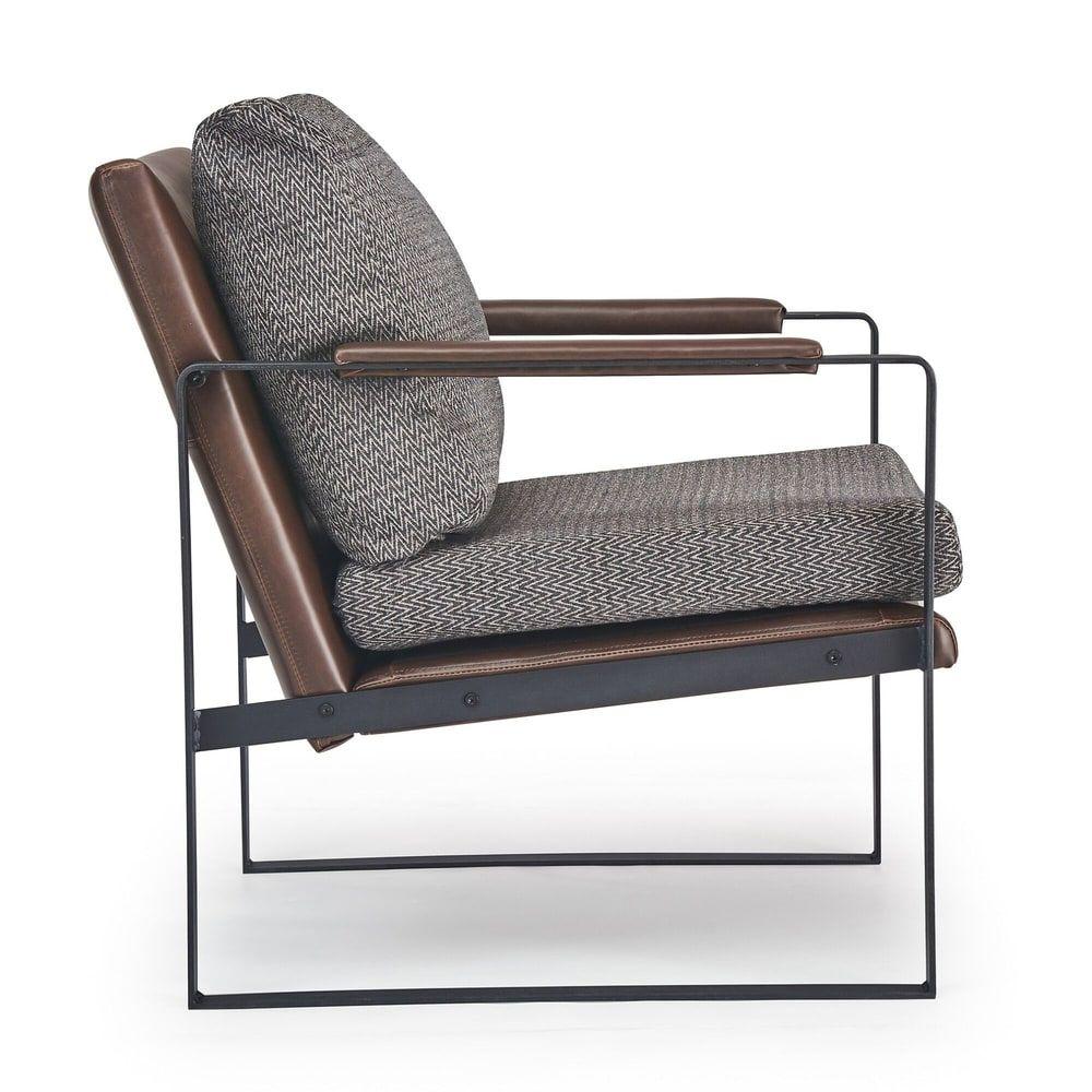 Park Art|My WordPress Blog_Finch Everett Metal Frame Accent Chair Gray