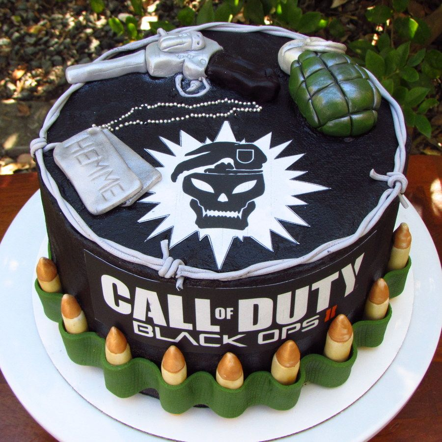 Park Art My WordPress Blog_Call Of Duty Cake Design
