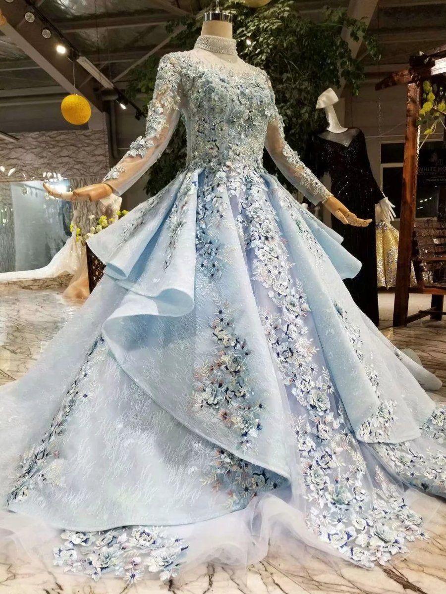 Park Art|My WordPress Blog_Slim Fit Wedding Dress Blue