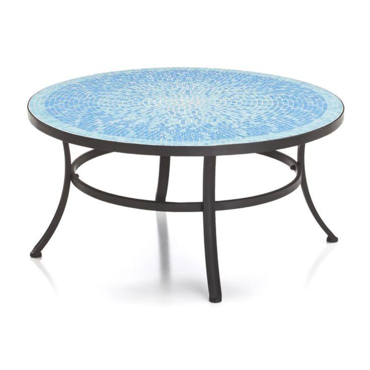 Park Art My WordPress Blog_Blue Mosaic Outdoor Coffee Table
