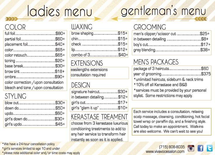 Park Art My WordPress Blog_Studio One Hair Salon Prices