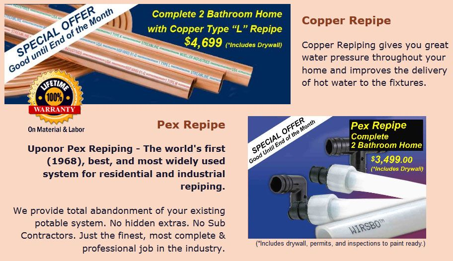 Park Art|My WordPress Blog_Repiping A House With Pex Cost