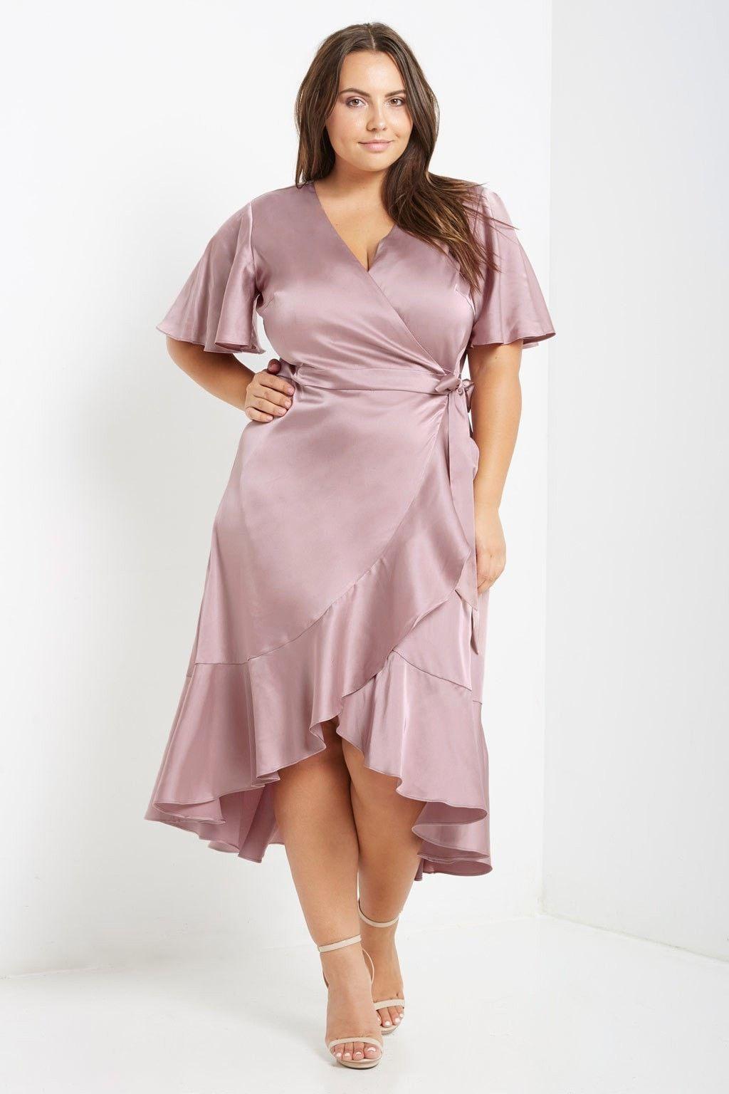 Park Art|My WordPress Blog_Pink Wrap Dress Plus Size