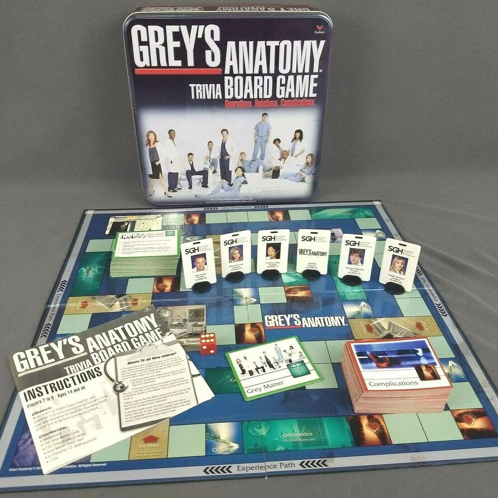 Park Art|My WordPress Blog_Greys Anatomy Trivia Board Game Etsy