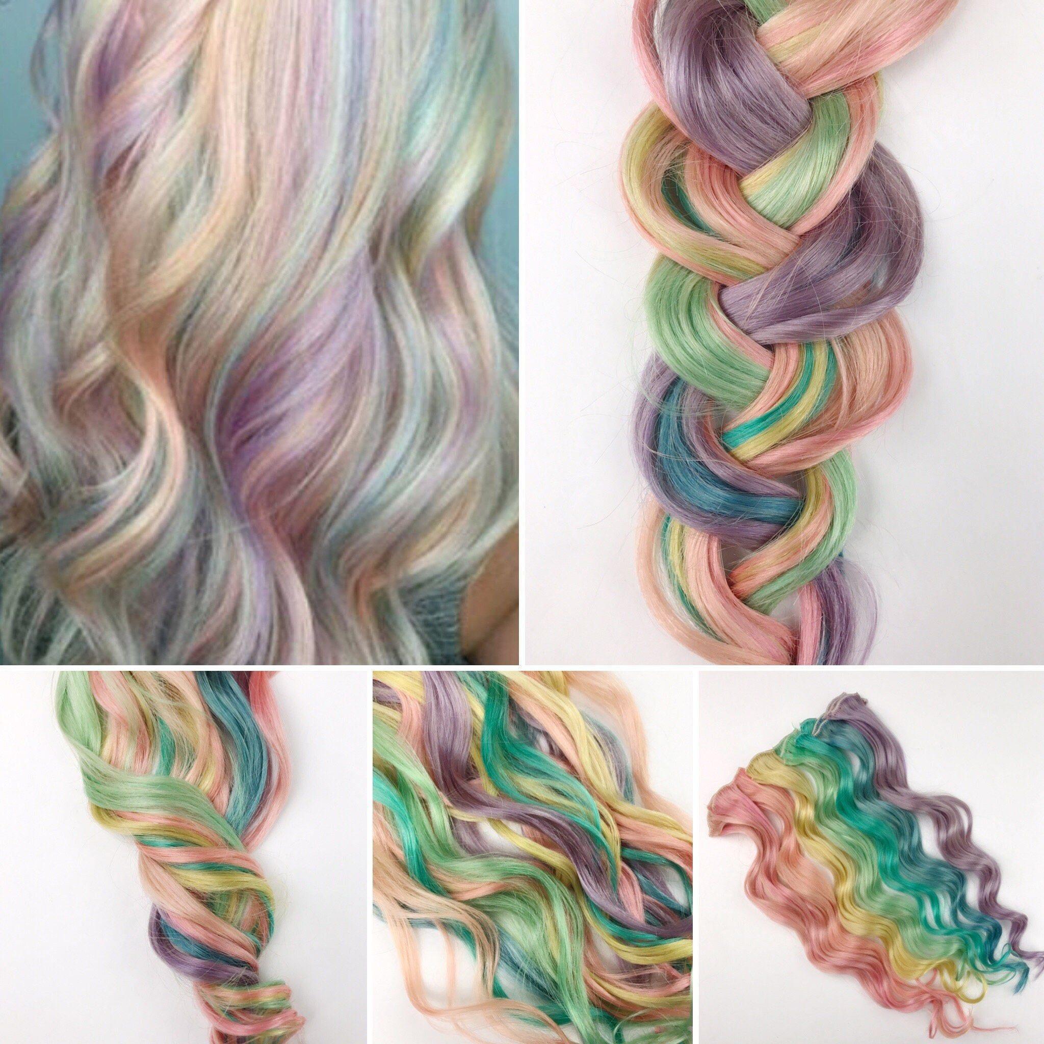 Park Art|My WordPress Blog_Pastel Pink Clip In Hair Extensions