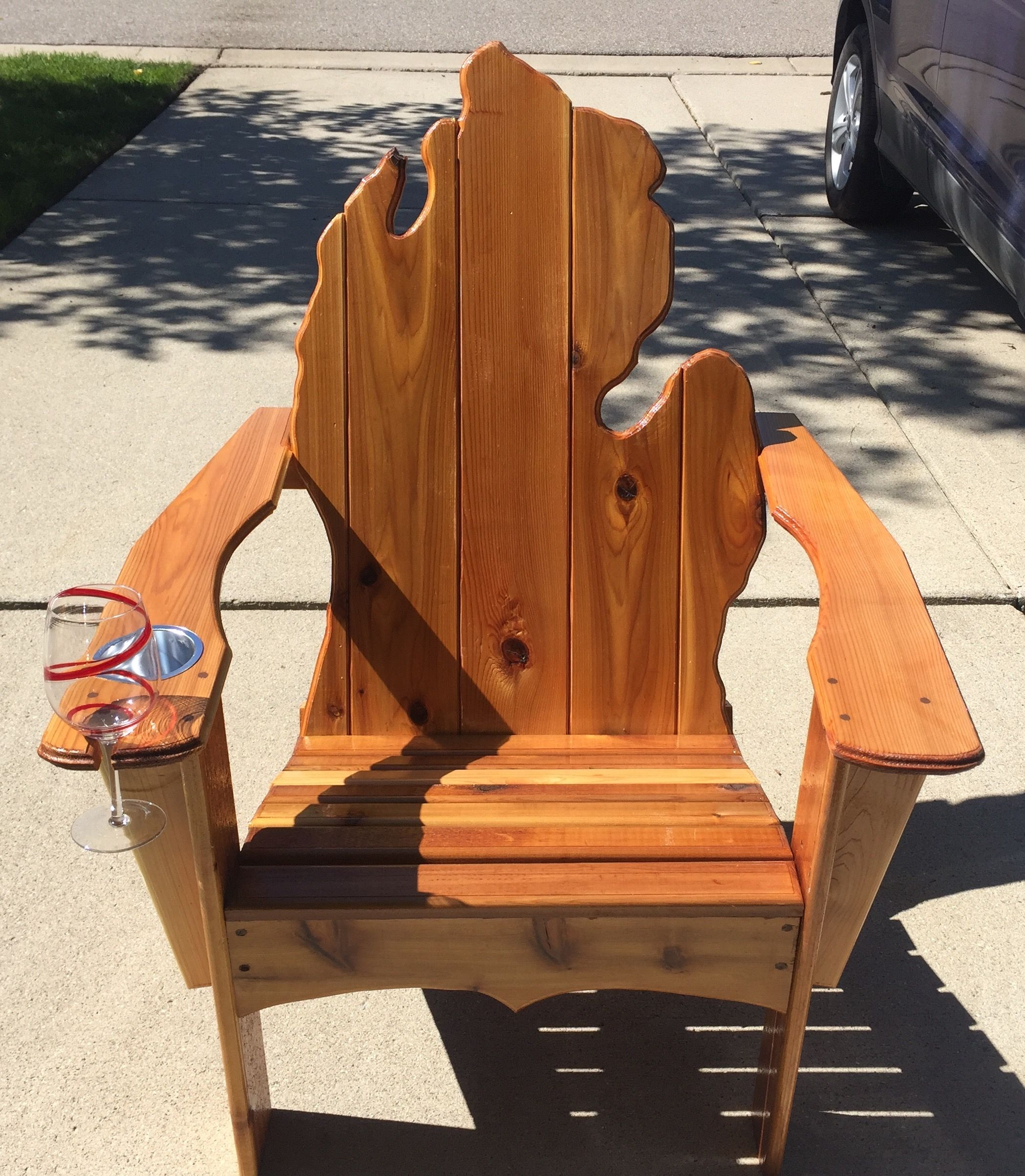 Park Art|My WordPress Blog_Adirondack Chair With Cup Holder Plans