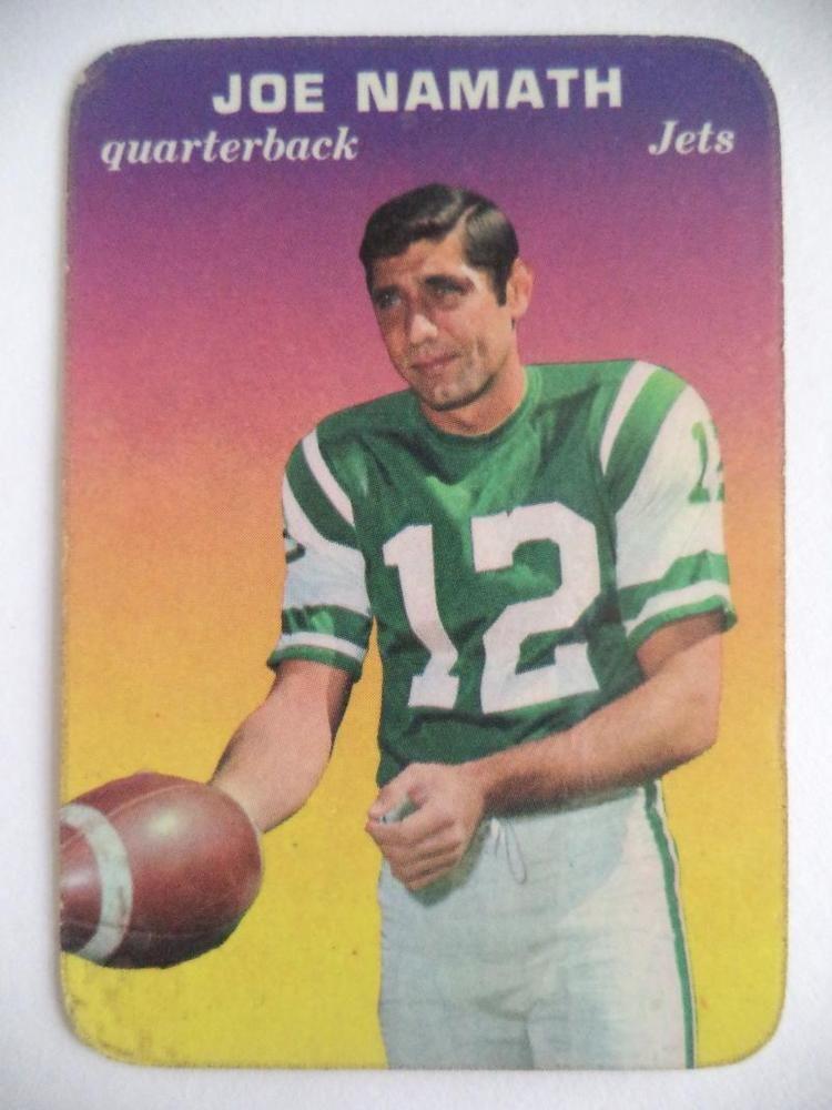 Park Art|My WordPress Blog_Joe Namath Football Card 1969