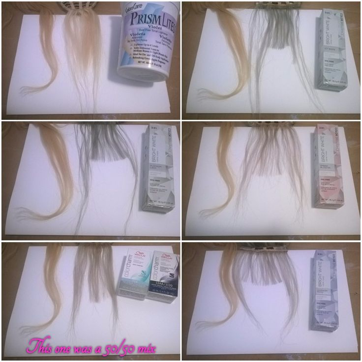 Park Art|My WordPress Blog_Ion Silver Pearl Hair Color Review