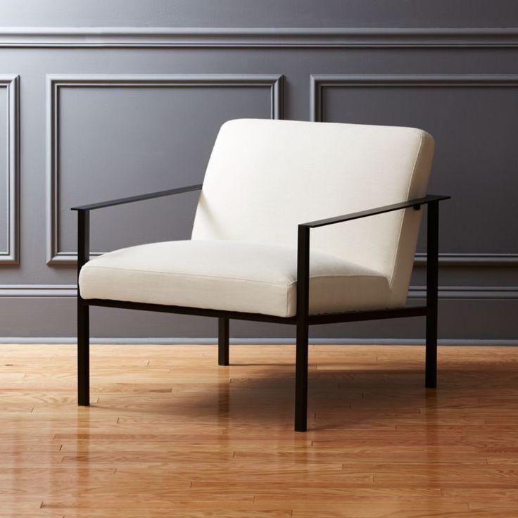 Park Art My WordPress Blog_Modern White Chair With Metal Legs