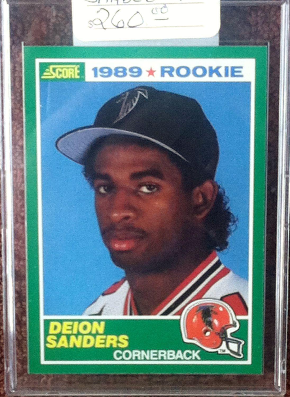 Park Art My WordPress Blog_Deion Sanders Rookie Baseball Card Value