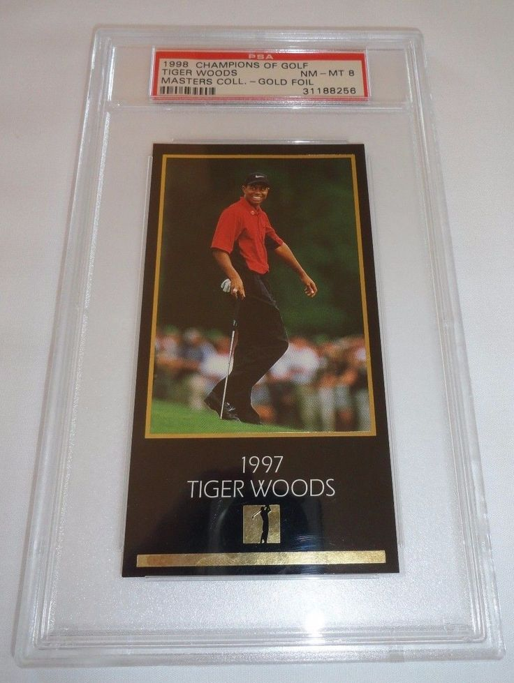 Park Art My WordPress Blog_Tiger Woods Rookie Card For Sale