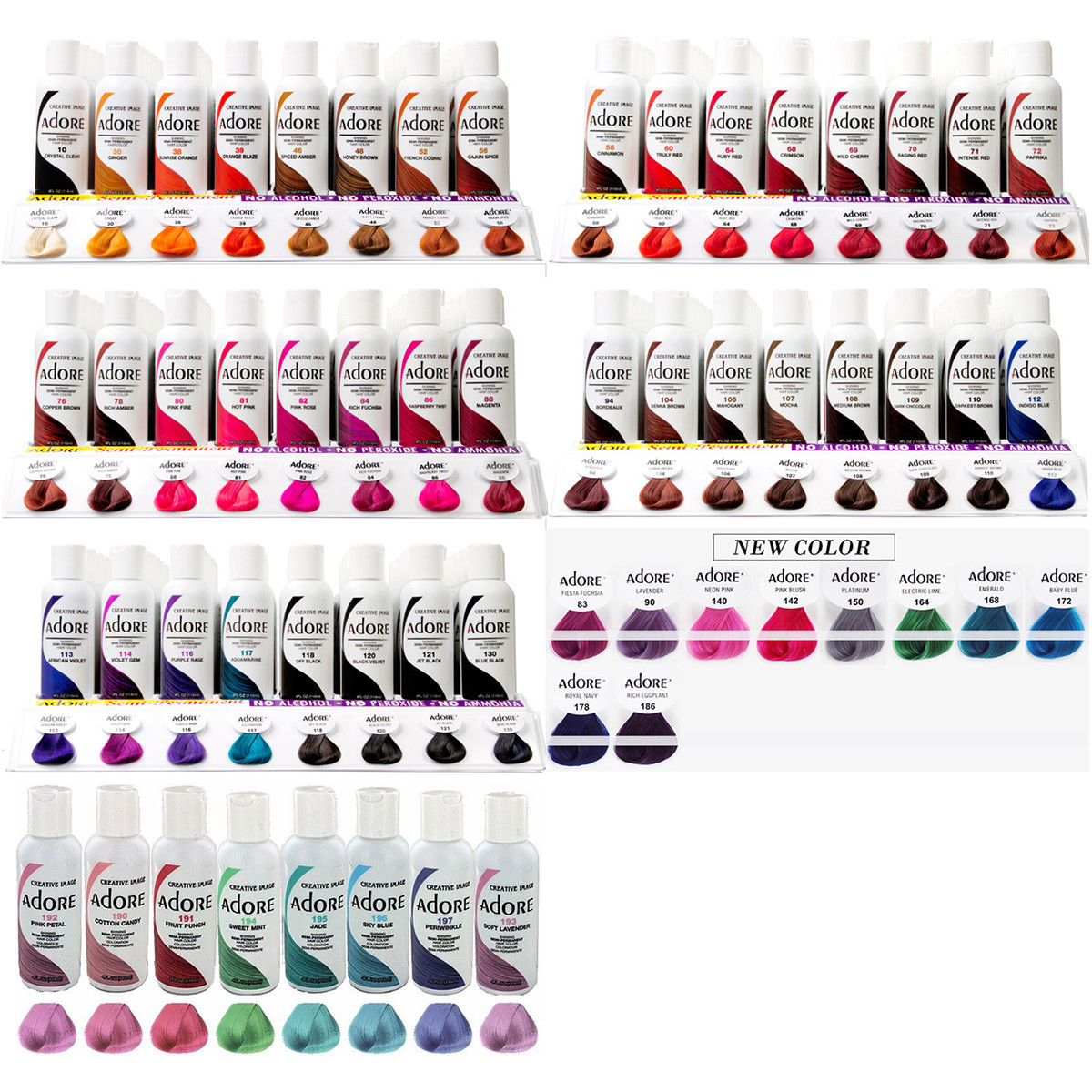 Park Art My WordPress Blog_Adore Semi Permanent Hair Color Chart