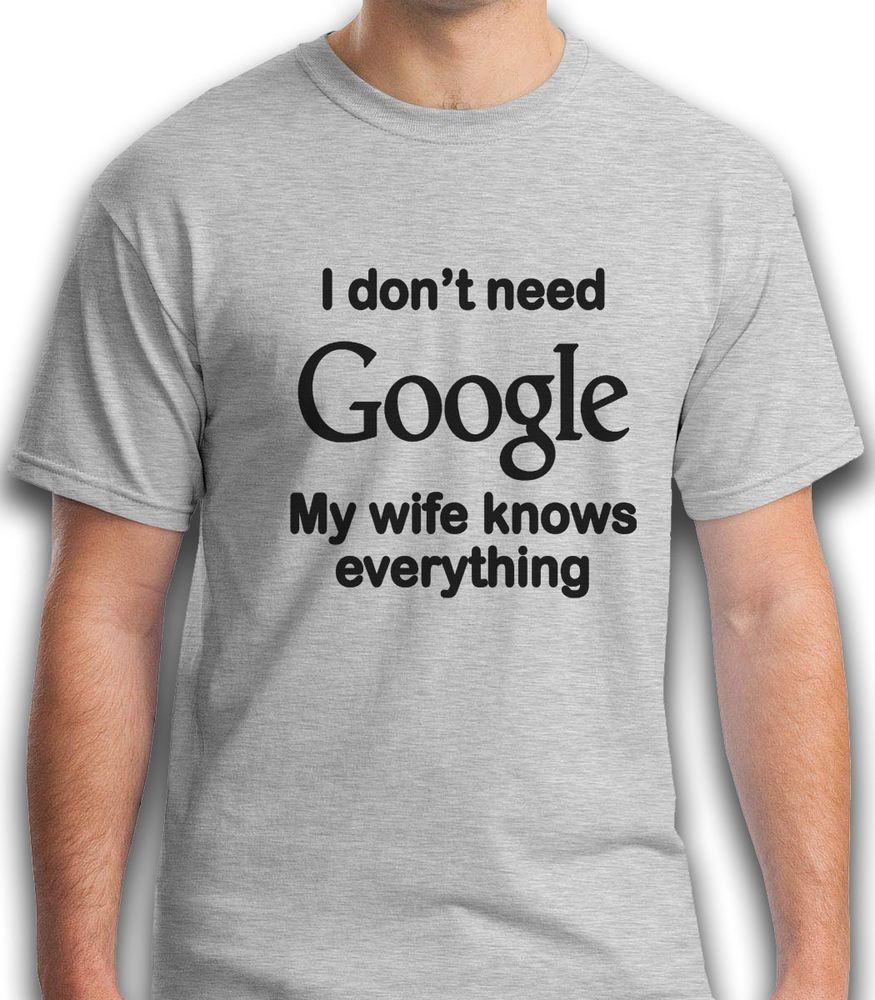 Park Art|My WordPress Blog_I Dont Need Google My Wife Knows Everything Sticker