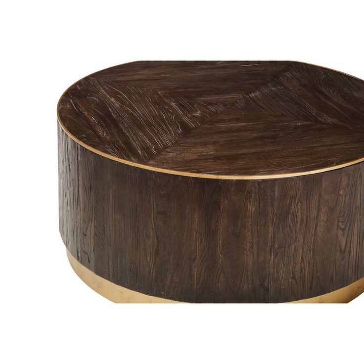 Park Art|My WordPress Blog_Silver Drum Coffee Table With Wood Top