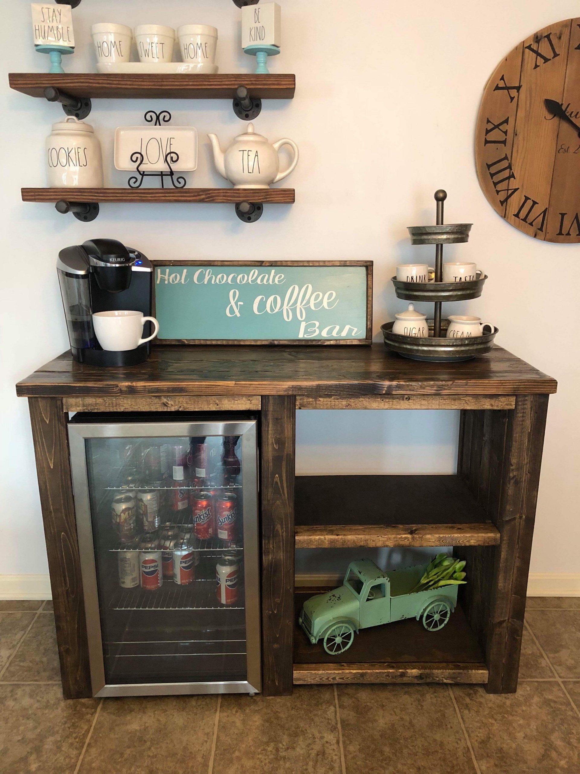 Park Art|My WordPress Blog_Coffee Bar With Mini Fridge Ideas