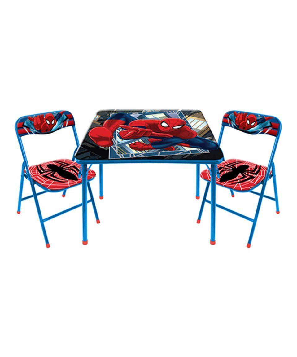 Park Art|My WordPress Blog_Marvel Spider Man 3 Piece Table And Chair Set