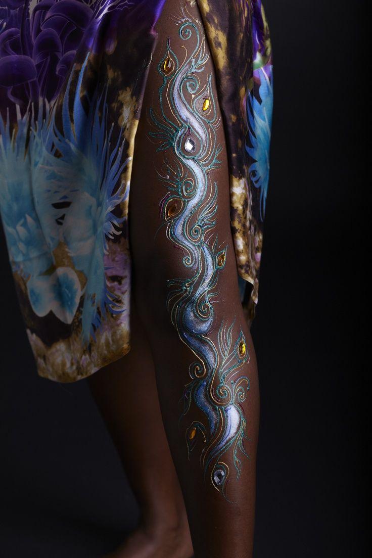 Park Art|My WordPress Blog_Gold Tattoo Ink On Dark Skin