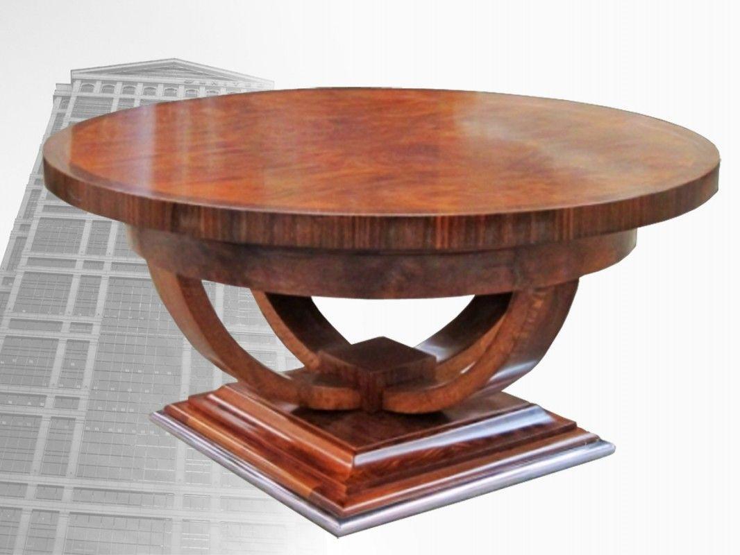 Park Art My WordPress Blog_Art Deco Coffee Table Round
