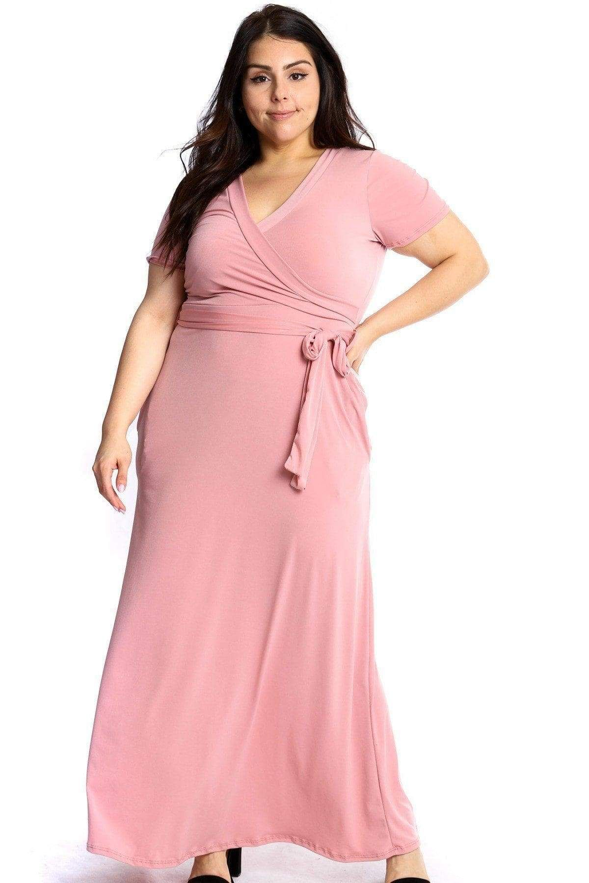 Park Art My WordPress Blog_Pink Maxi Dress Plus Size