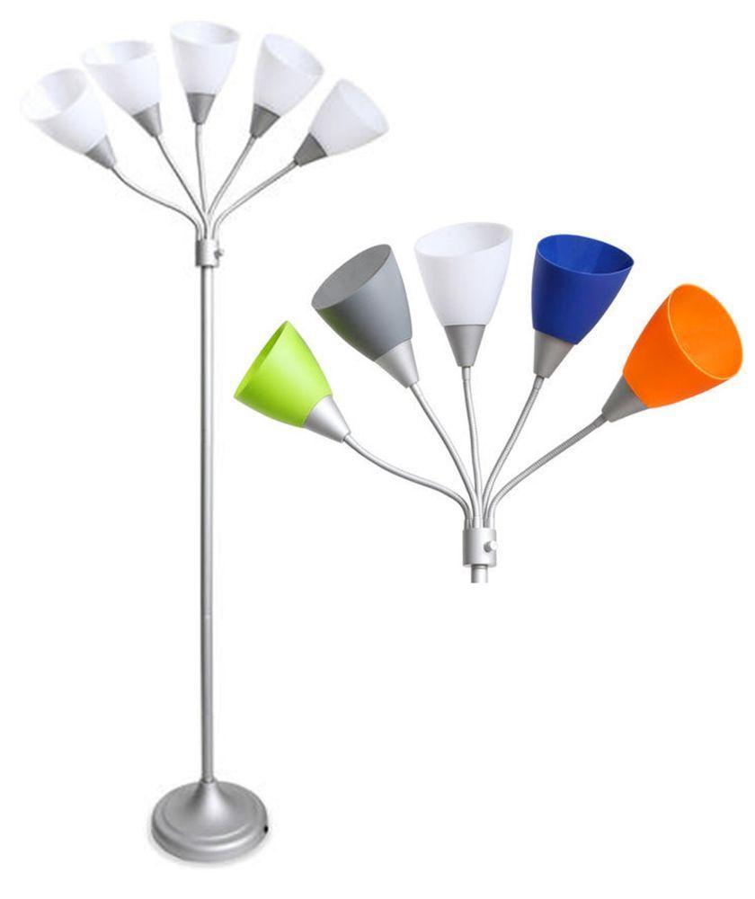 Park Art|My WordPress Blog_5 Arm Floor Lamp With Multi Color Shade