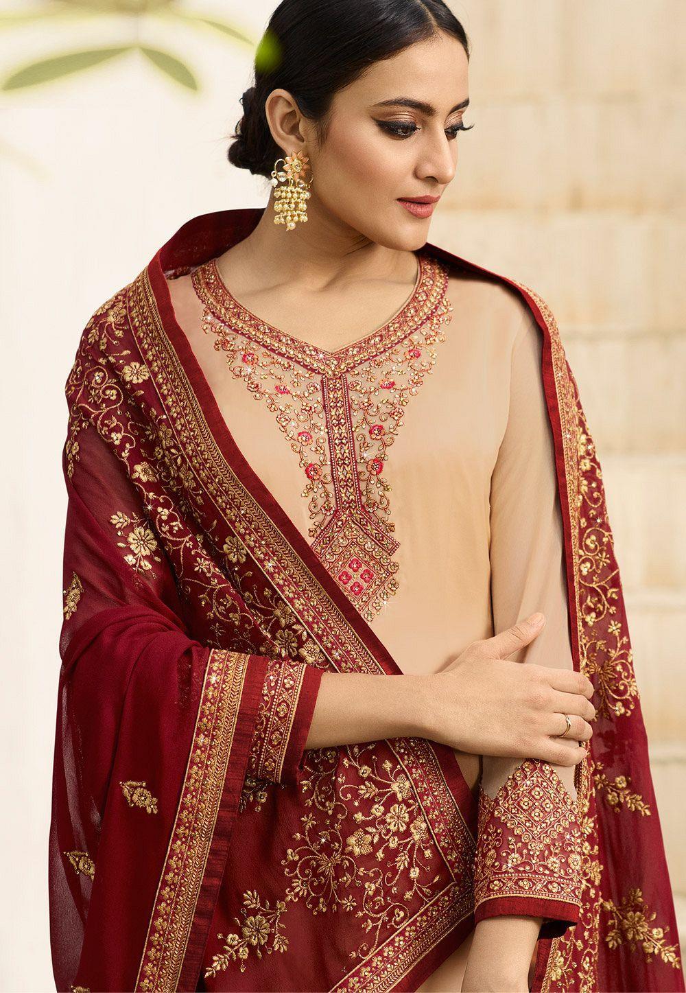 Park Art My WordPress Blog_Light Pink Maxi Dress Pakistani