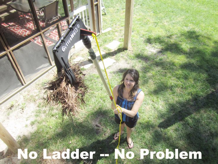 Park Art My WordPress Blog_How To Clean High Gutters Without A Ladder