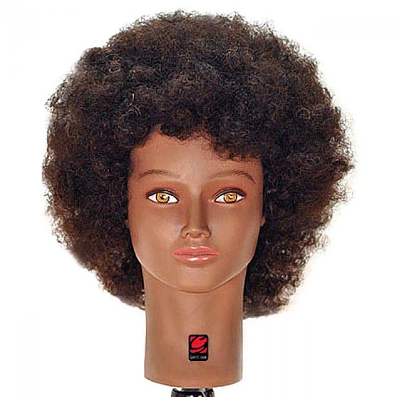 Park Art My WordPress Blog_Black Mannequin Head With Natural Hair