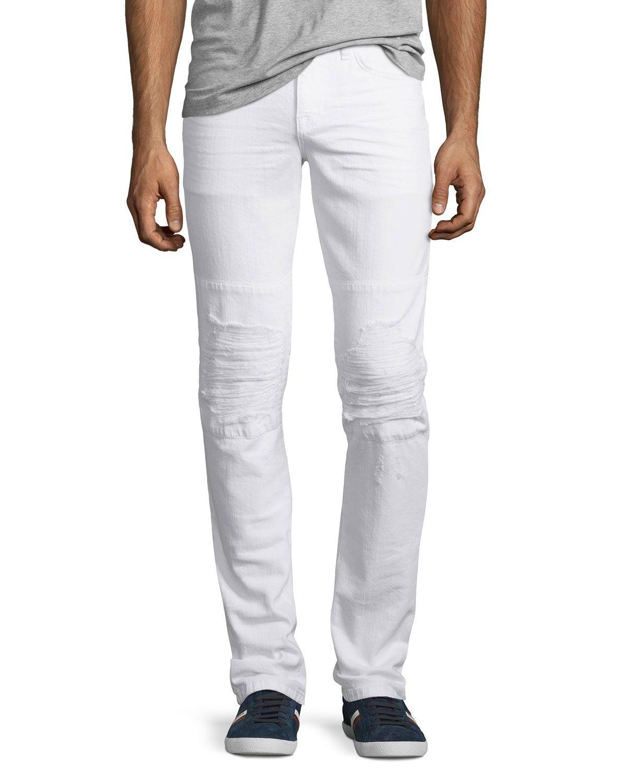 Park Art|My WordPress Blog_White Washed Jeans Mens Slim Fit
