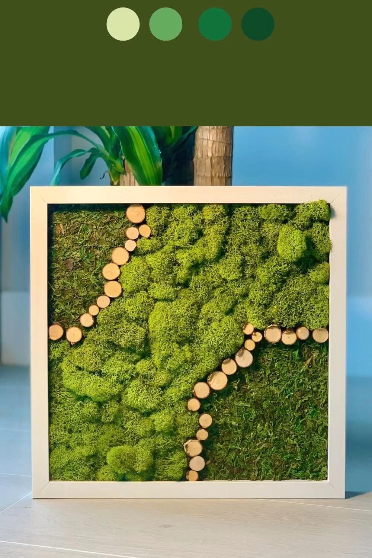 Park Art My WordPress Blog_Preserved Moss Wall Art Diy
