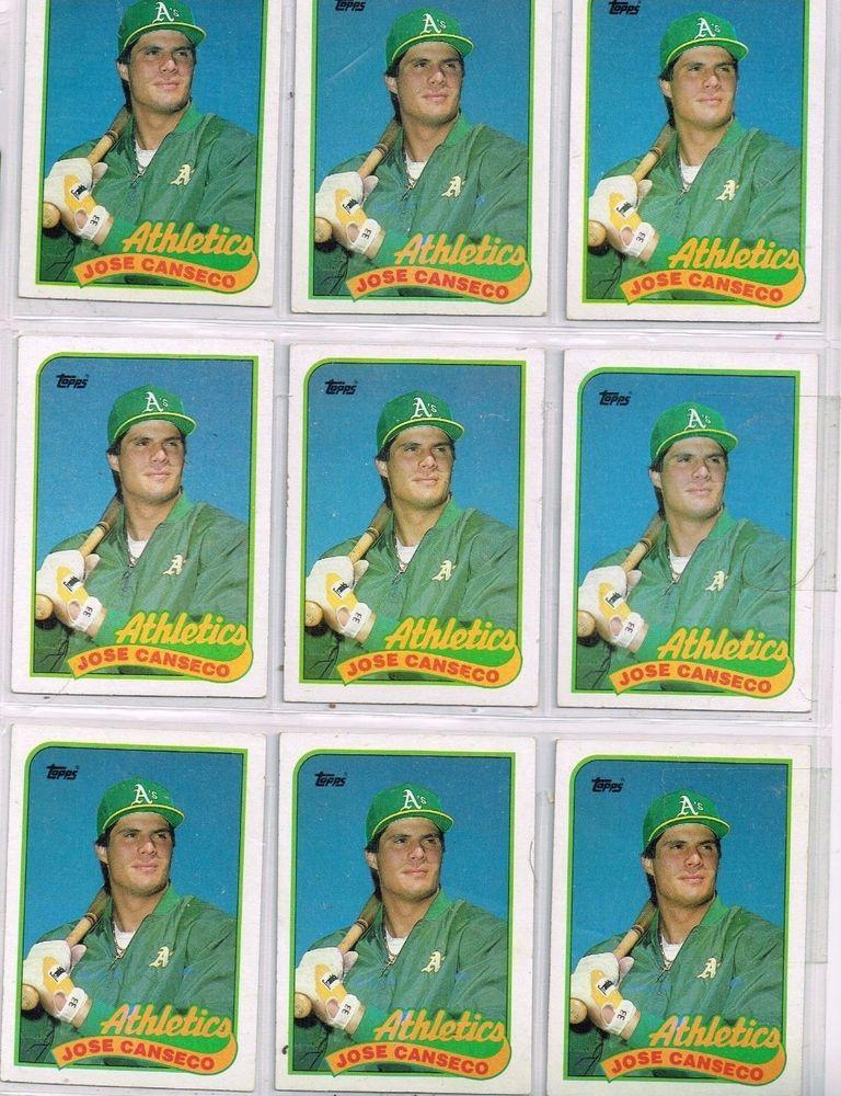 Park Art My WordPress Blog_Jose Canseco Baseball Card 1989