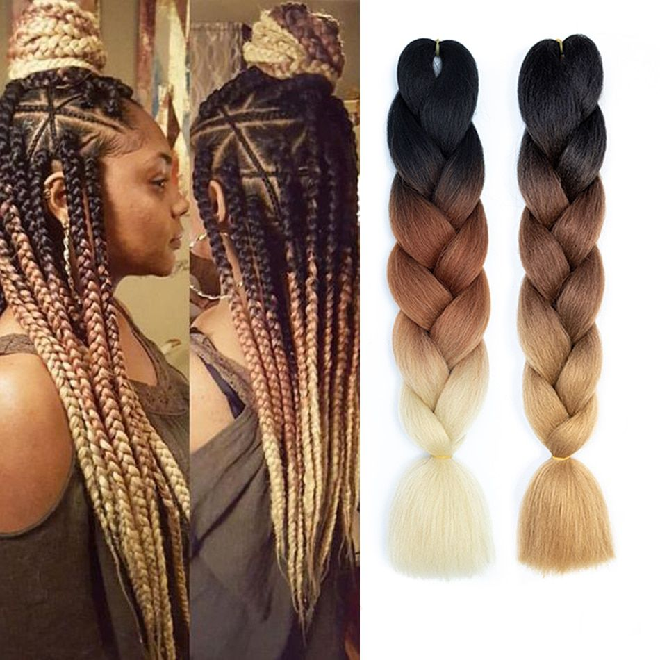 Park Art|My WordPress Blog_Xpressions Pre Stretched Braiding Hair Ombre