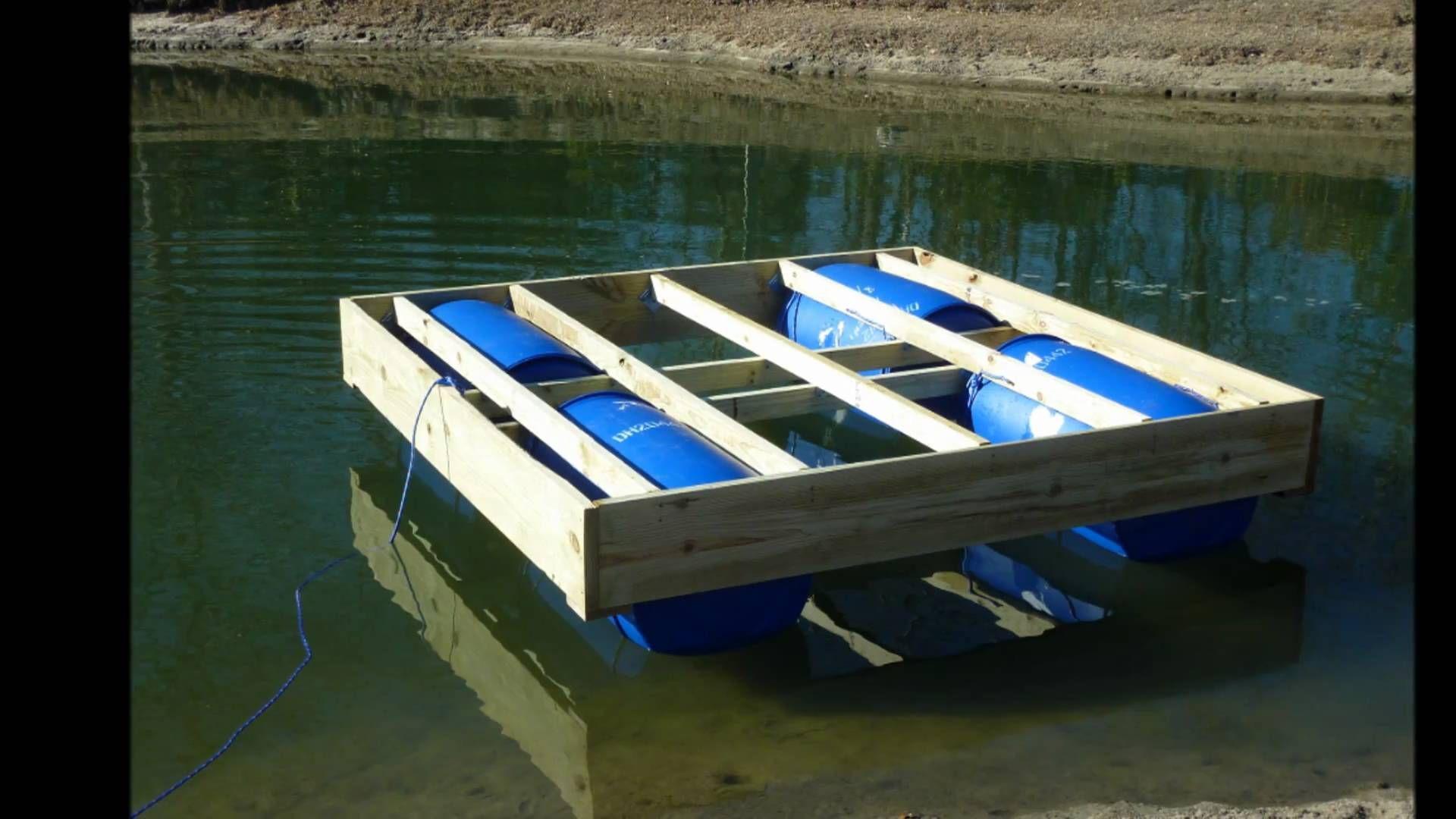 Park Art My WordPress Blog_Building A Dock With Barrels
