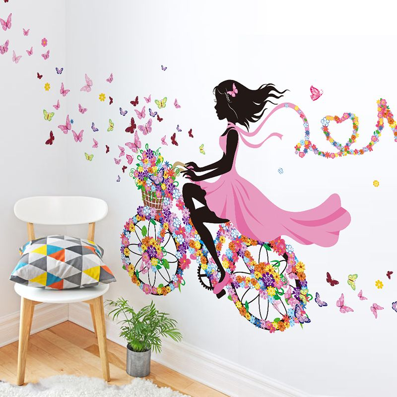 Park Art|My WordPress Blog_Girl With Butterfly Dress Wall Decor