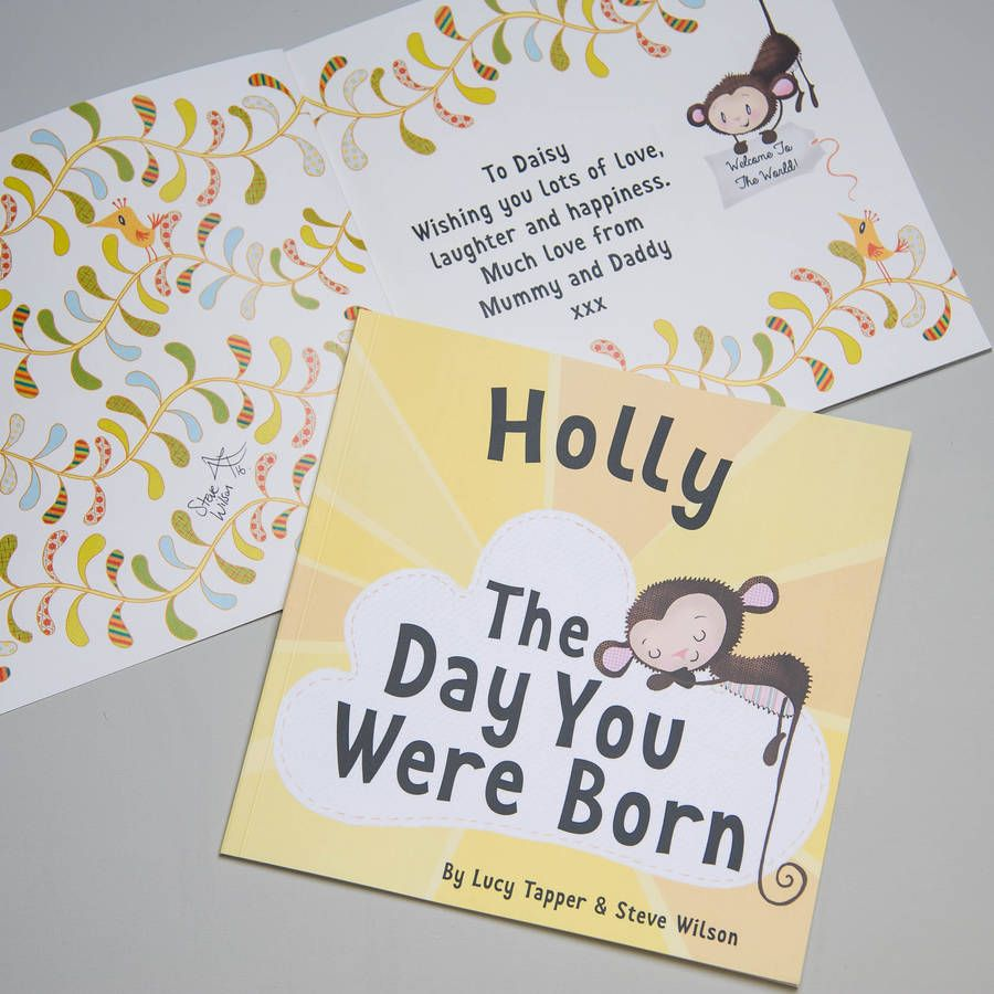 Park Art|My WordPress Blog_The Day You Were Born Personalised Book
