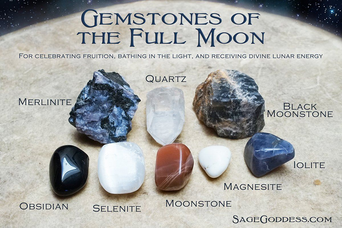 Park Art My WordPress Blog_How To Set Intentions With Crystals Full Moon