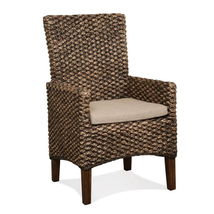 Park Art|My WordPress Blog_Seagrass Dining Chairs With Arms