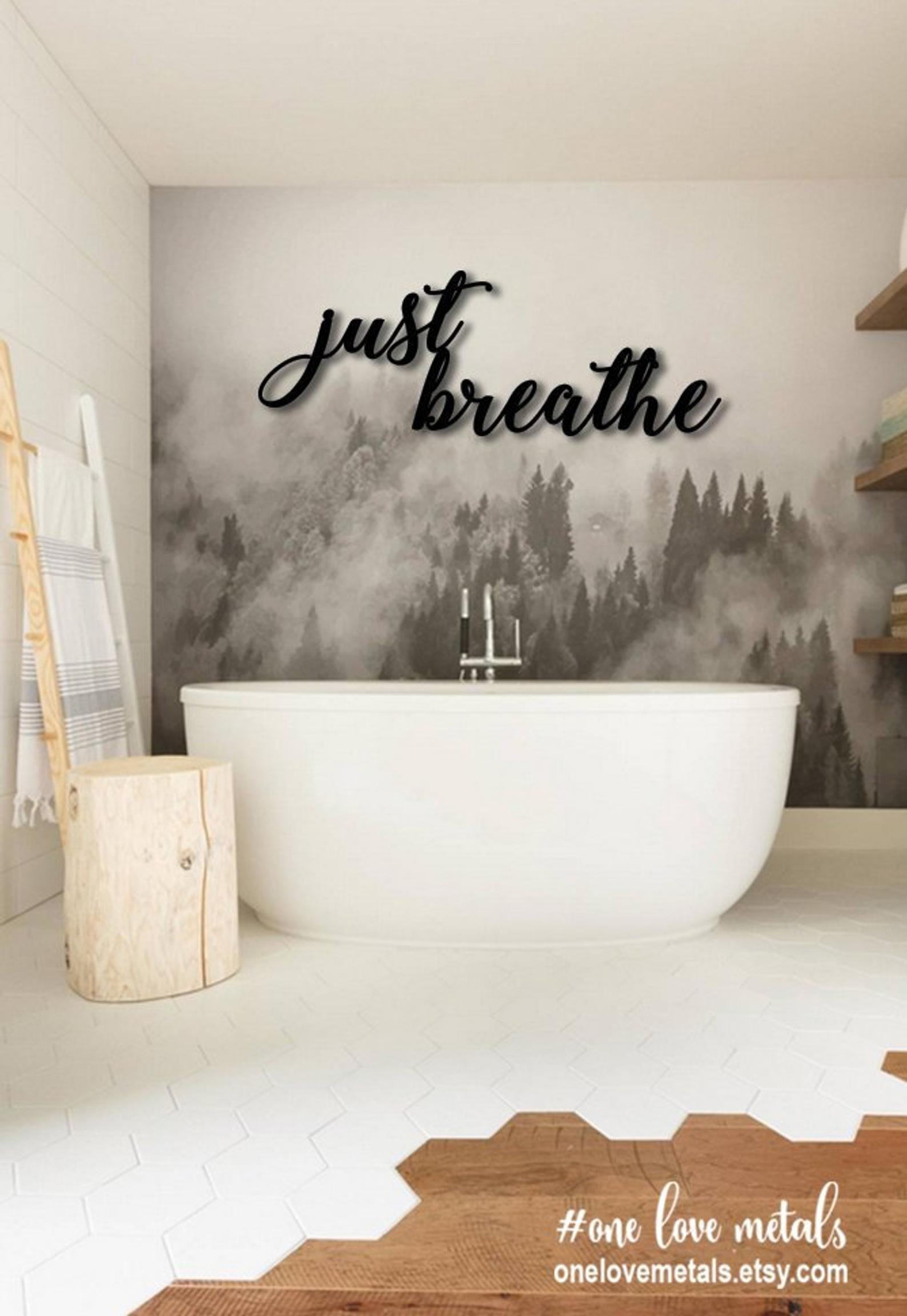 Park Art|My WordPress Blog_Just Breathe Metal Wall Art