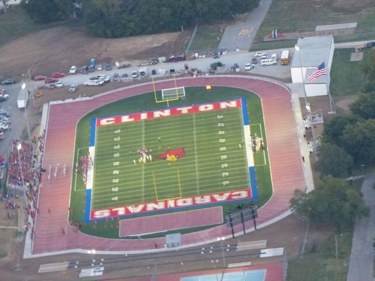 Park Art|My WordPress Blog_Clinton High School Football Stadium
