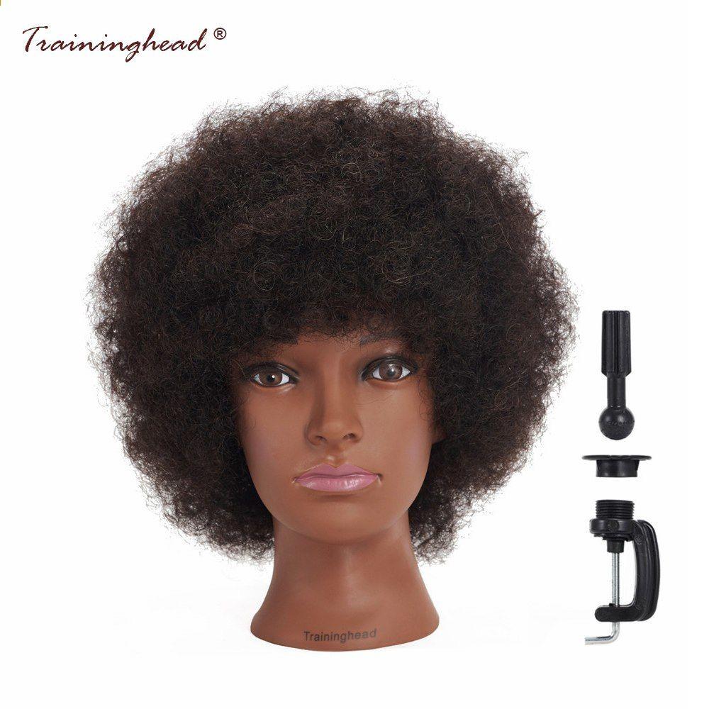 Park Art My WordPress Blog_Black Mannequin Head With Curly Hair