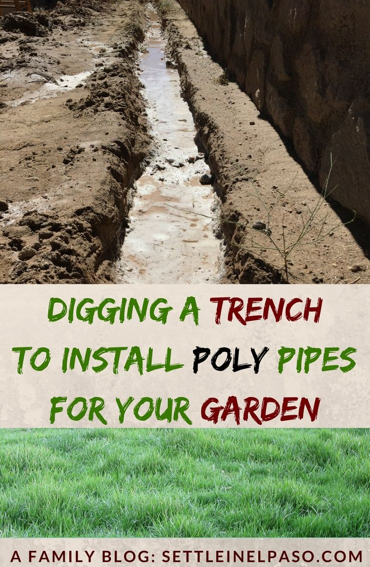 Park Art|My WordPress Blog_How To Use A Trencher In Rocky Soil
