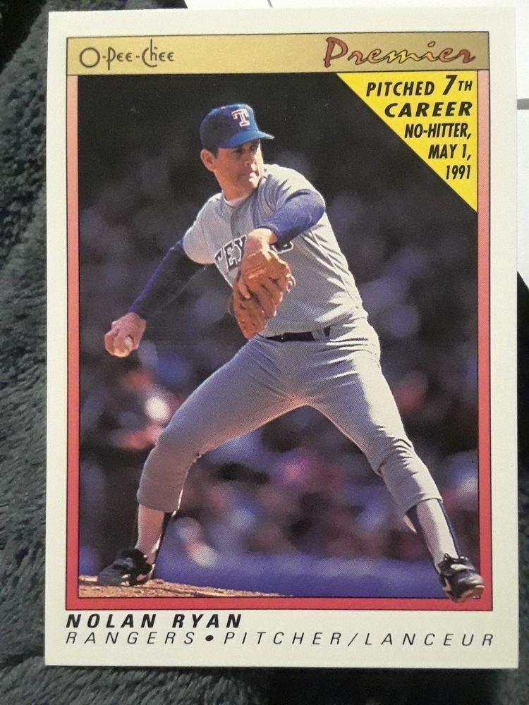 Park Art|My WordPress Blog_Nolan Ryan Baseball Cards 1991